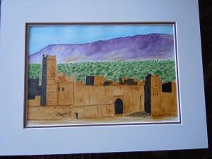 Ksar dans le Sud Marocain dans Dernières oeuvres dscn61674-300x225